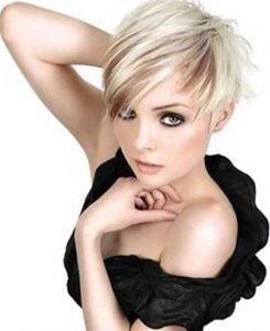 blond s melírkem